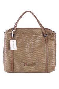 BLUGIRL Blumarine - handtasche mit logo-applikation -