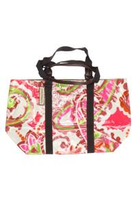 MALIPARMI - tote bag/shopper-tasche mit floralem muster -