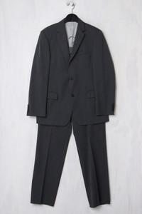 BOSS HUGO BOSS - Schurwoll-Anzug mit Nadelstreifen - L