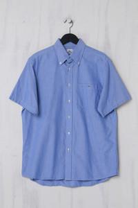 LACOSTE - Kurzarm-Hemd aus Baumwolle - L