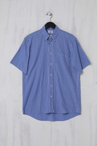 LACOSTE - Kurzarm-Hemd aus Baumwolle - S