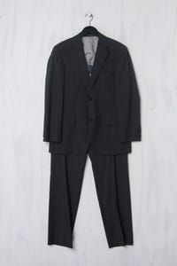 BOSS HUGO BOSS - Anzug mit Streifen aus Schurwolle - XS