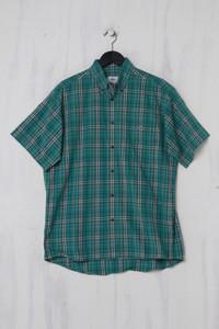 LACOSTE - Kurzarm-Hemd aus Baumwolle - M