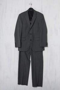 DIGEL - Schurwoll-Anzug mit Streifen - L