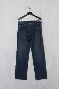 LACOSTE - Jeans mit Logo-Patch - L