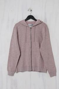 ZARA - Kapuzen-Pullover mit Reißverschluss - M