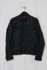 Hilfiger Denim - Coated-Jacke aus Baumwolle mit Riegeln - S